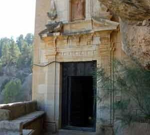 Entrada al Santuario  (Km 147,4)