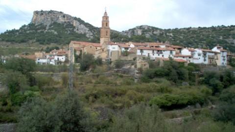 Llegando a Xiva de Morella