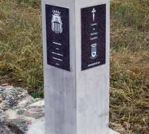 Mojón de piedra nº 3 (Km 82) Mitad del Camino de Castellón