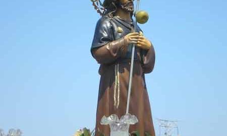 Santiago Peregrino en procesión