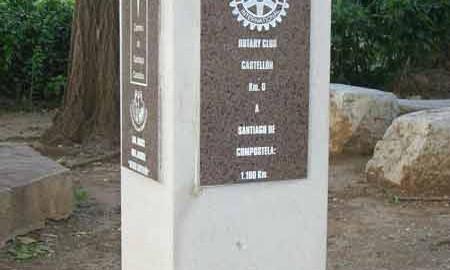 Mojón de piedra Km 0, Castellón