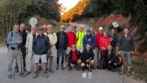 Comienza la segunda etapa ( Villafranca Montes de Oca - Burgos )