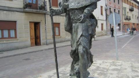 Monumento al peregrino en Carrion de los Condes