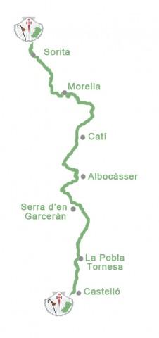 ruta camino santiago de castellon