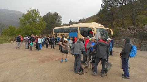 Ruta Jacobea 5ª etapa Vallivana-Morella 2016 002