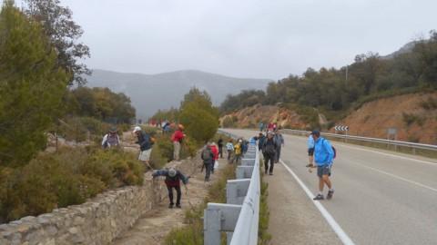 Ruta Jacobea 5ª etapa Vallivana-Morella 2016 006