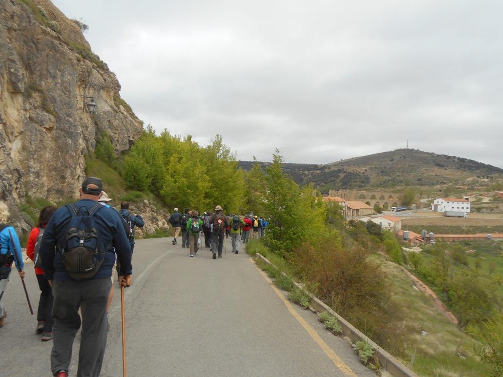 Ruta Jacobea 6ª Etapa Morella-Zorita 005