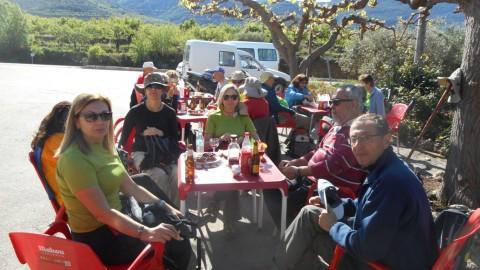Ruta Jacobea CS, 3ª etapa Serra d`Engarceran-Segarró 044