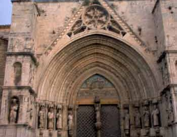 Pórtico de los Apóstoles de la Basílica de Santa María la Mayor