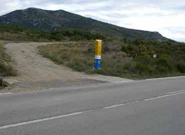 Mojón nº 28 (Km 97,3) Al Mas de Jovaní