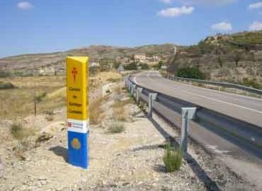 Mojón nº 41 (salida carretera Ortells) (Km 138,6)