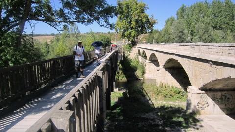 Cruzando el rio Tiròn