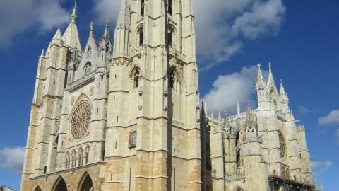La bella Catedral de León