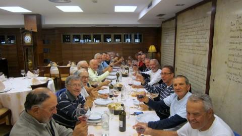 Comida de despedida en Astorga