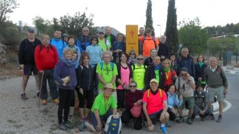 Ruta Jacobea CS, 2ª Etapa Puebla Tornesa-Sierra Engarceran 026