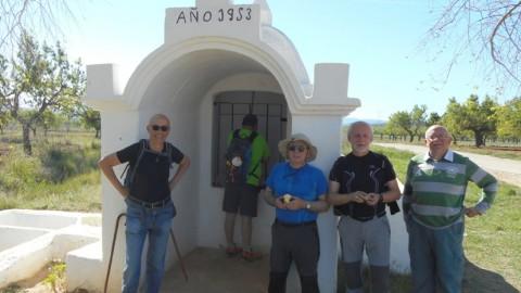 Ruta Jacobea CS, 2ª Etapa Puebla Tornesa-Sierra Engarceran 044