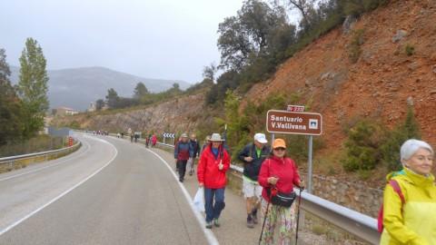 Ruta Jacobea 5ª etapa Vallivana-Morella 2016 004