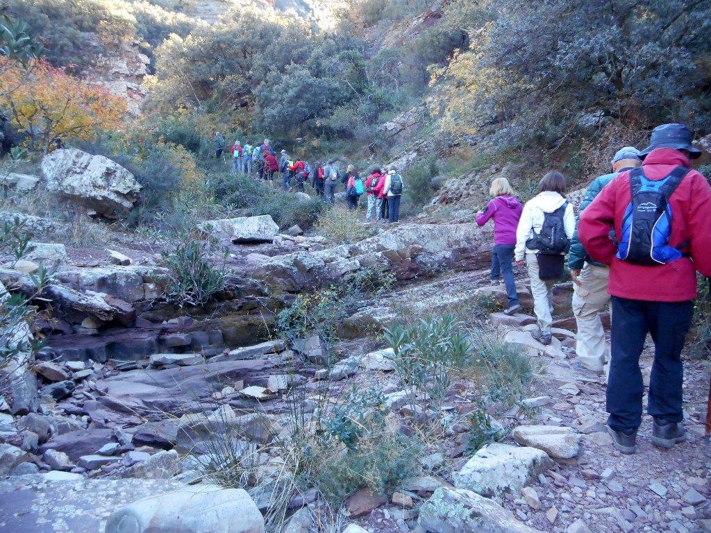Algimia de Almonacid-Barranco de Aguas Negras-Cueva del Estuco 025